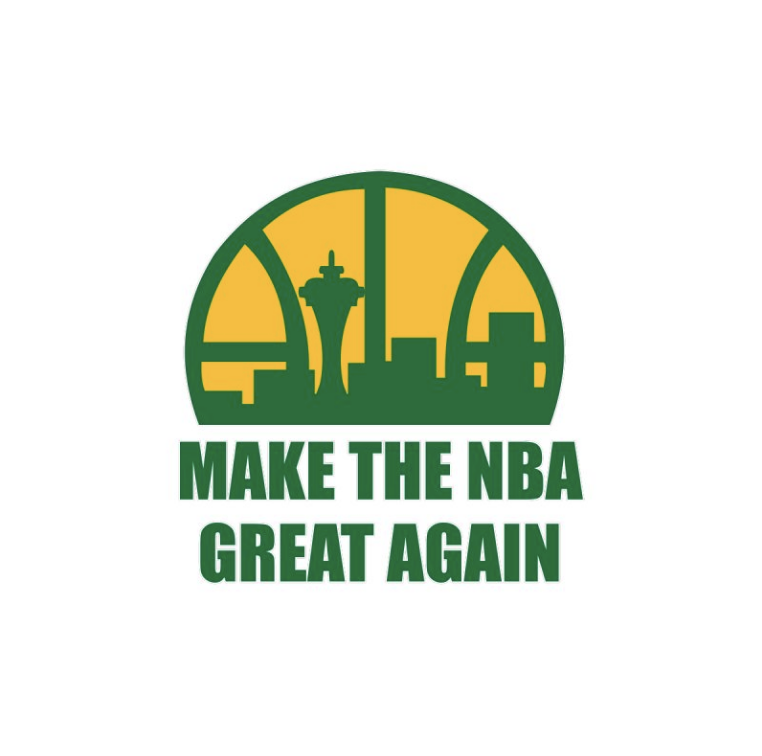 Make The NBA Great Again Image